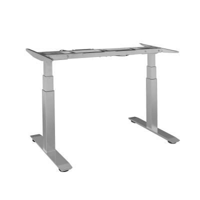 AIRLIFT S3 Gray Electric Standing Desk Frame (Max. Height 50.4 in) /w 4 Memory Buttons LED Height Display