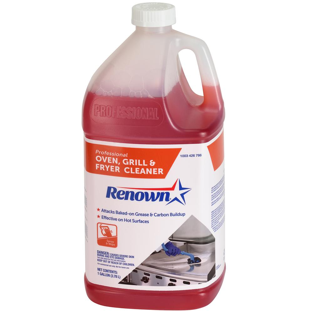 Renown 128 oz. Professional Oven/Grill and Fryer Cleaner