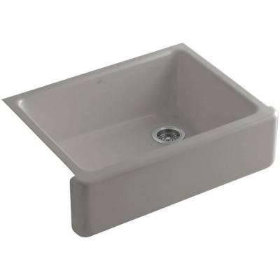Whitehaven Farmhouse Apron-Front Cast Iron 30 in. Single Bowl Kitchen Sink in Cashmere