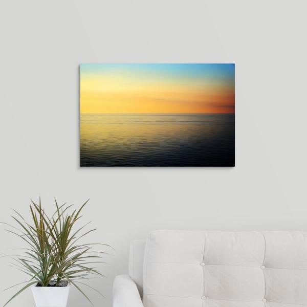 ''Quiet Waters'' by John Rehner Canvas Wall Art