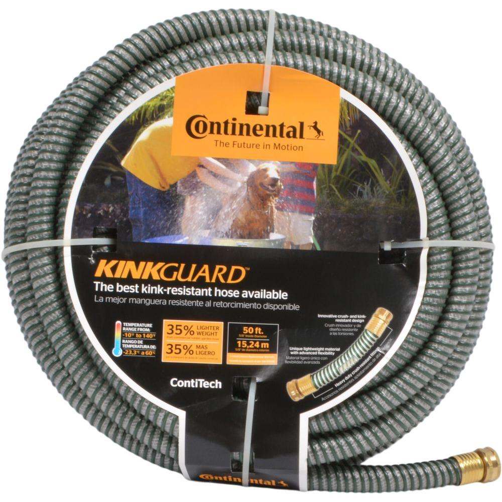 Contitech 5/8 in. Dia x 50 ft. KinkGuard Water Hose