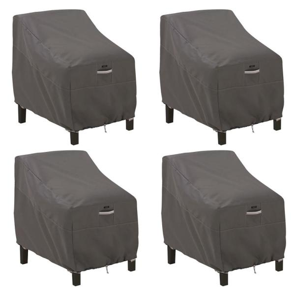 Ravenna Dark Taupe Deep Seated Patio Lounge Cover (4-Pack)