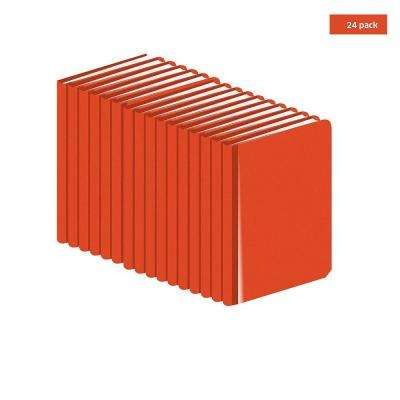 Engineers Field Surveying Orange Book Standard size 4  x 7  (24 Books)
