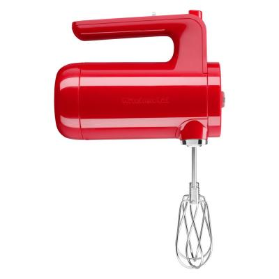 Cordless 7-Speed Passion Red Hand Mixer