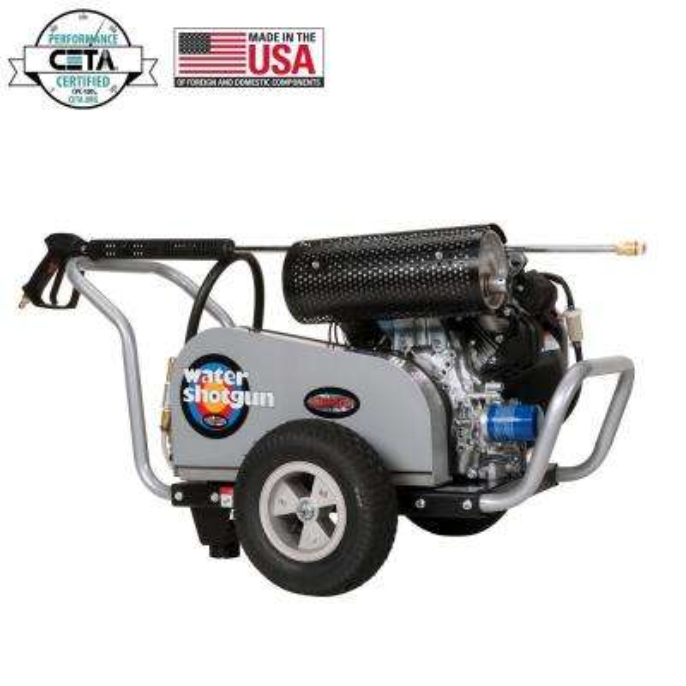 WaterShotgun 5000 PSI at 5.0 GPM HONDA GX630 with COMET Triplex Pump Industrial Gas Pressure Washer