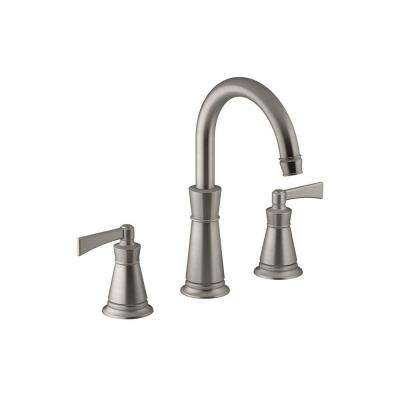Archer 2-Handle Deck-Mount Roman Tub Faucet Trim Kit in Vibrant Brushed Nickel (Valve Not Included)