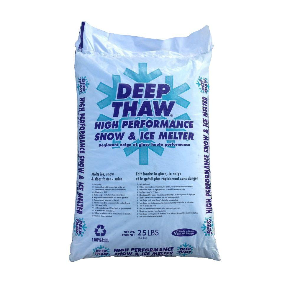 25 lbs. Deep Thaw Ice Melt Bag