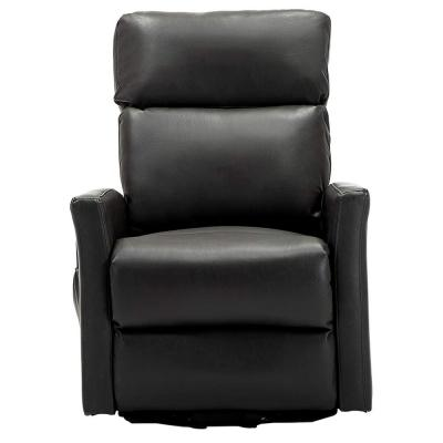 Lift Recliner Chairs,Gray Faux Leather Power Reclining Chair for Living Room Home Theater Seating