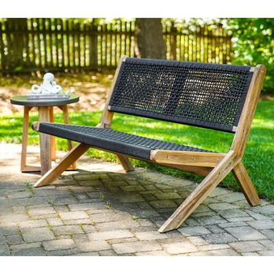 Athens Wood Outdoor Loveseat