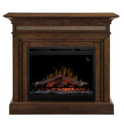 Harleigh 44 in. Electric Fireplace in Walnut