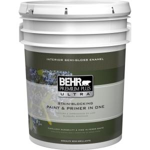 Ultra Pure White Semi Gloss Enamel Interior Paint And Primer In One