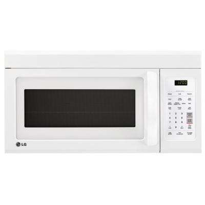 1.8 cu. ft. Over the Range Microwave in Smooth White