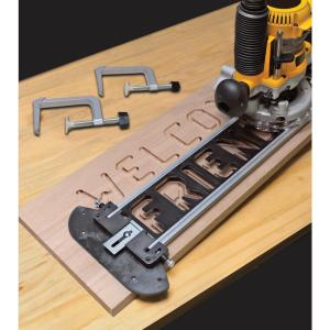 Milescraft Sign Pro Sign-Making Jig Set for Routers by Milescraft