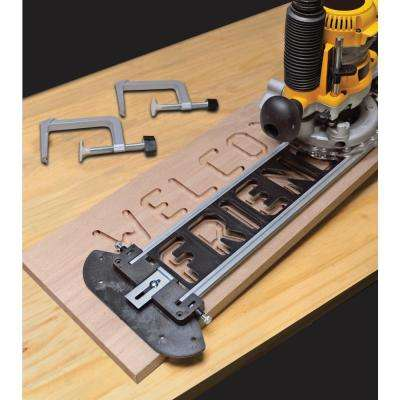 Sign Pro Sign-Making Jig Set for Routers