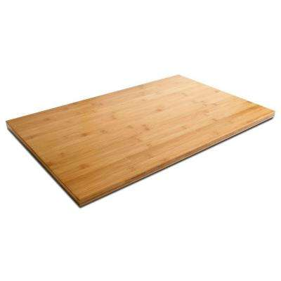 28 in. W Bamboo Top for Ready to Assemble Garage Cabinets