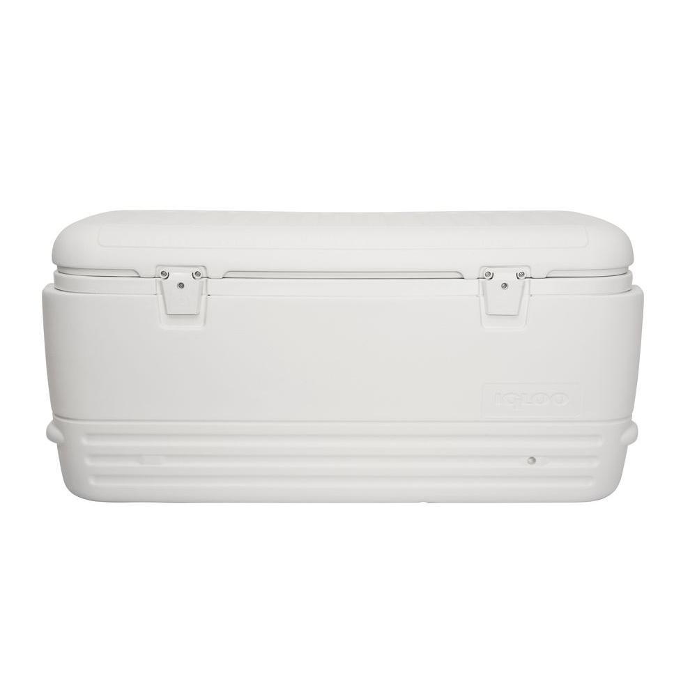 New Large Igloo Cooler 120 Qt Quart Max Cold Ice Chest Insulated Marine Fishing