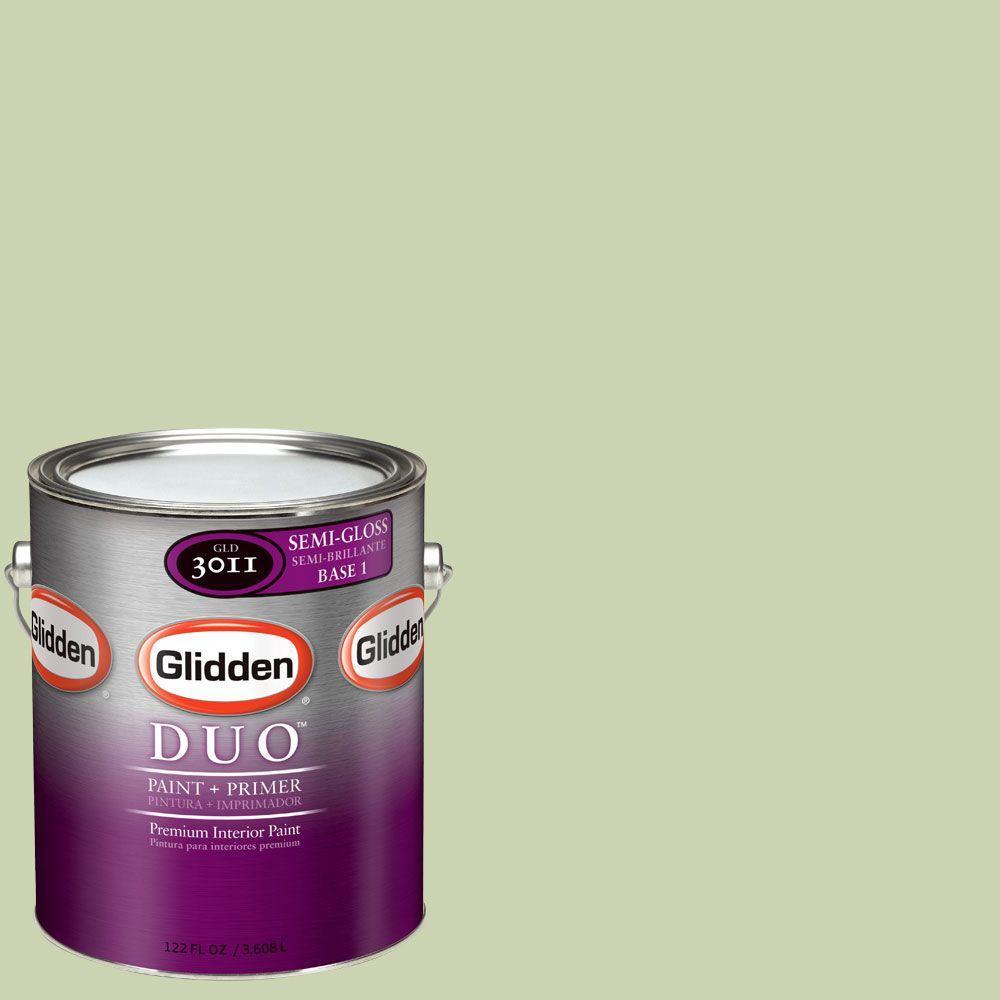 Glidden DUO Martha Stewart Living 1-gal. #MSL090-01S Sun Semi-Gloss Interior Paint with Primer-DISCONTINUED