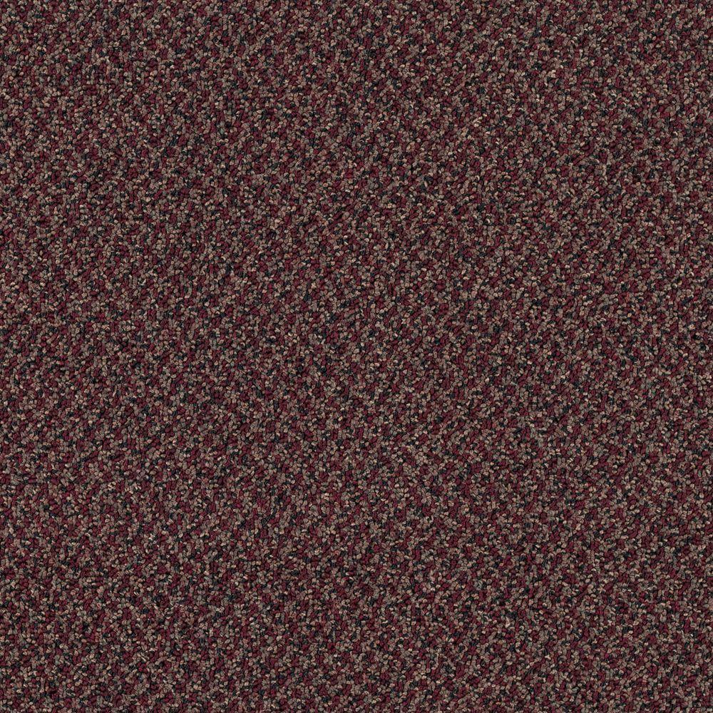 Difference Maker - Color Red Violet Loop 12 ft. Carpet