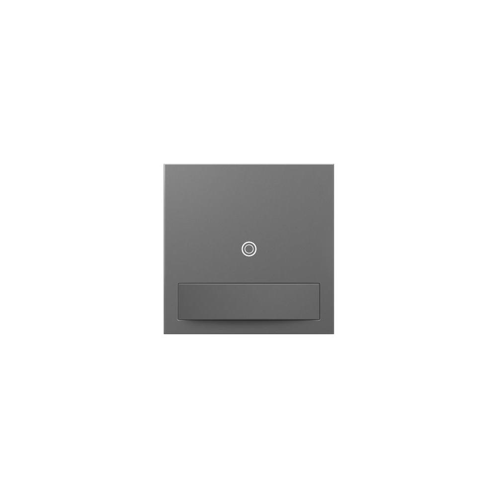 Legrand adorne 15 Amp Multi-Location Rocker Vacancy Sensor Switch, Magnesium