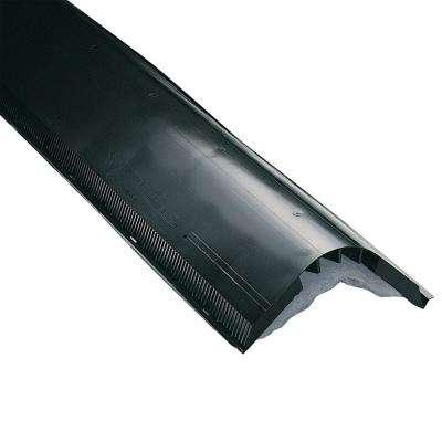 Shinglevent II 1.4 in. x 14 in. x 48 in. Ridge Vent in Black with Nails (Sold in Carton of 10/4 ft. Pieces Only)