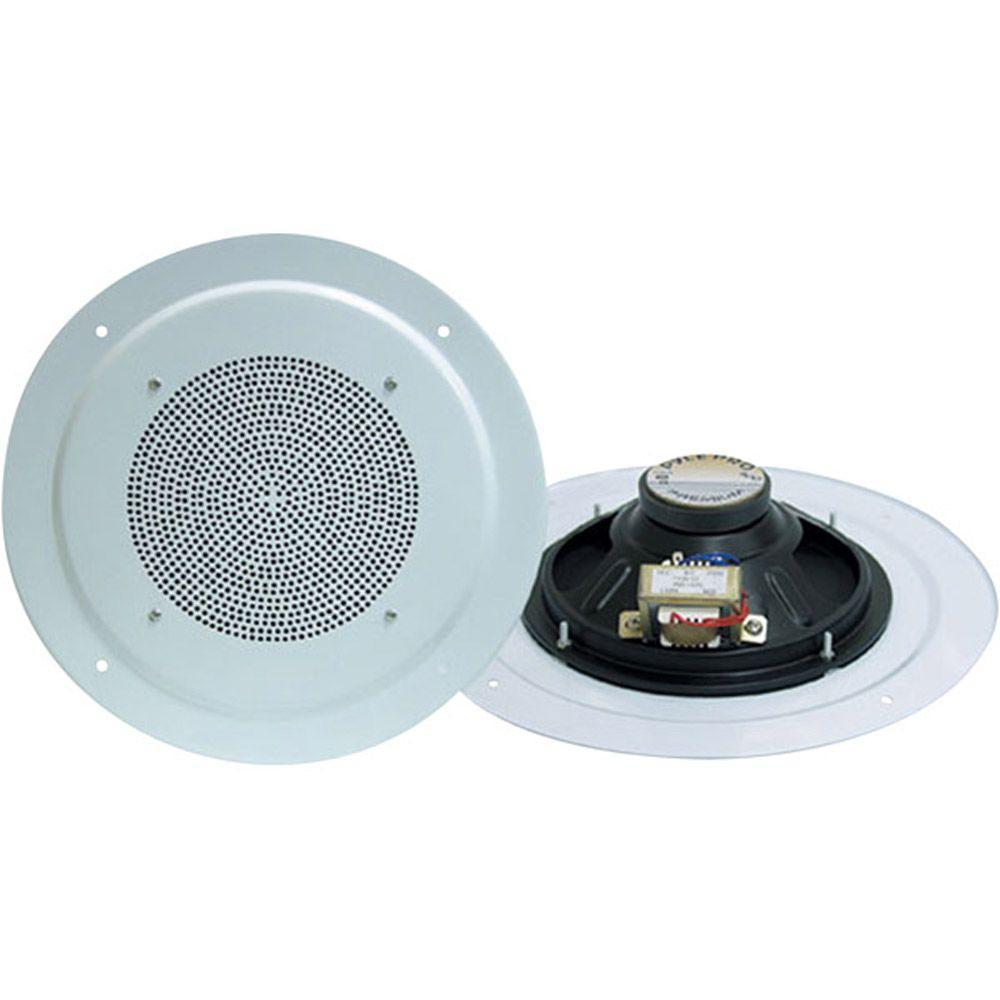 Full Range 8 in. 200-Watt 2-Way In-Ceiling Speaker