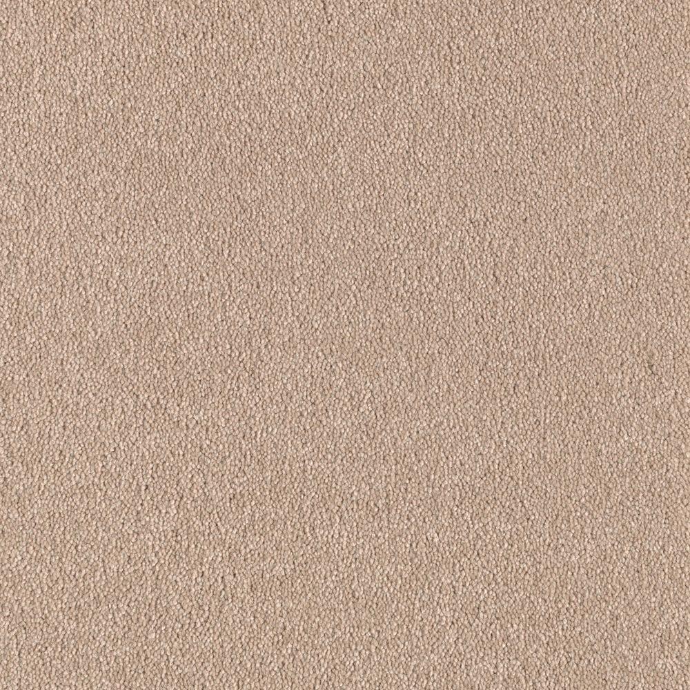 Carpet Sample - Turbo II - Color Tender Tan Texture 8 in. x 8 in.