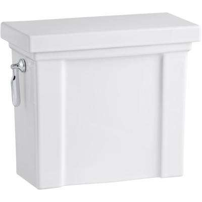 Tresham 1.28 GPF Single Flush Toilet Tank Only with AquaPiston Flush Technology in White