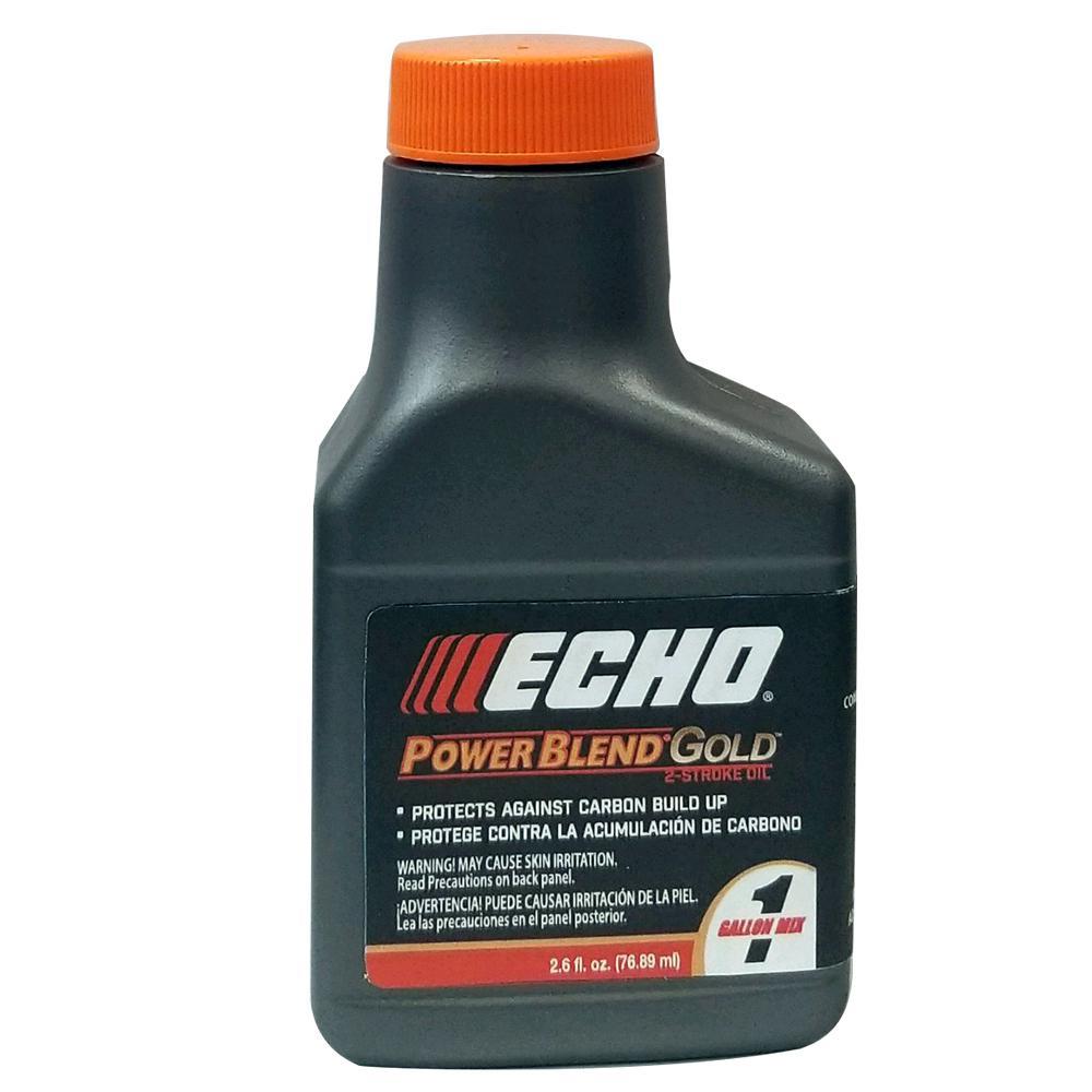 ECHO PowerBlend Gold 2.6 Oz. 2-Stroke Engine Oil