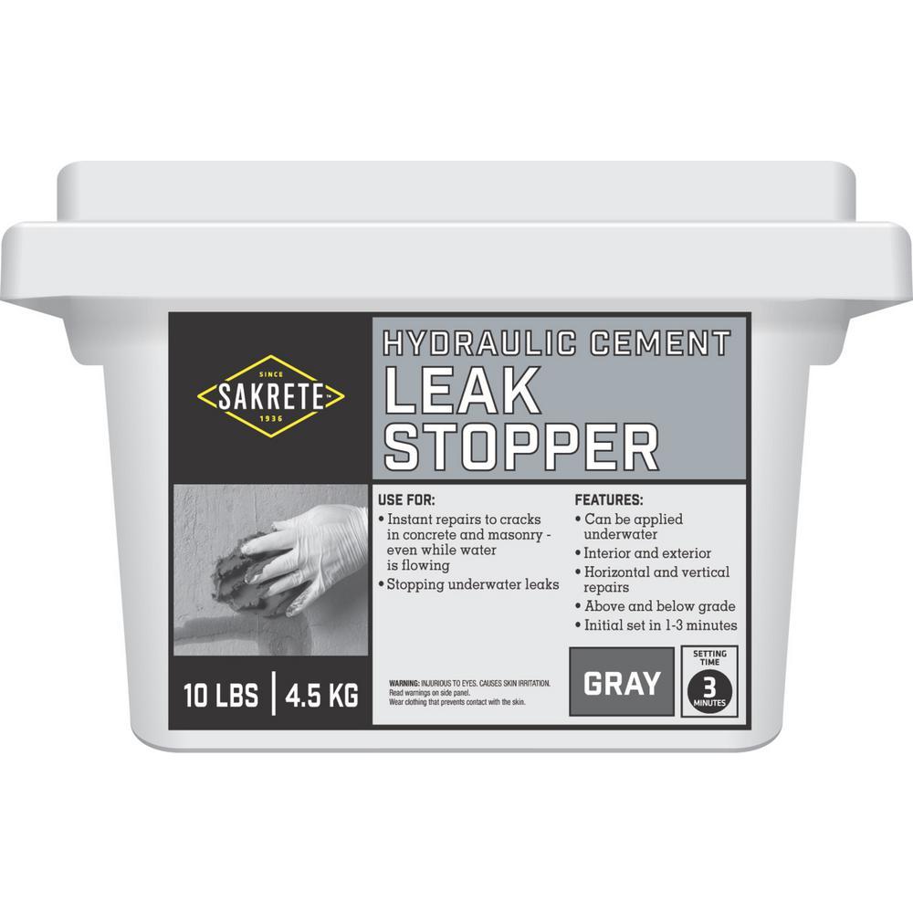 SAKRETE 10 lb. White Leak Stopper Concrete Mix