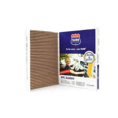 Replacement Antibacterial Cabin Air Filter for Purolator CU2532