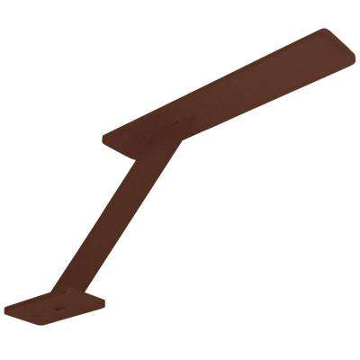 Enterprise 10 in. x 6 in. Bronze Countertop Stand Off Post Support