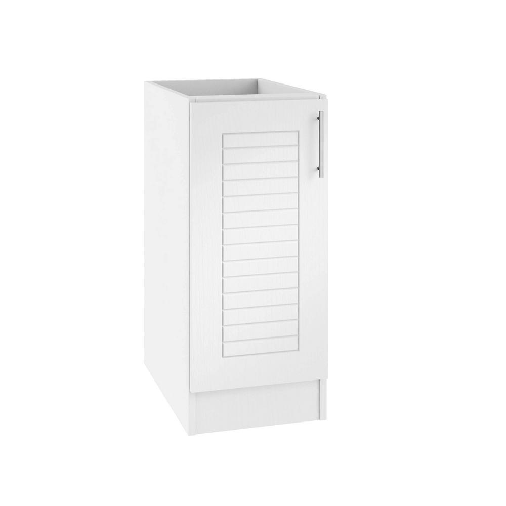 Assembled 18x34.5x24 in. Key West Island Outdoor Kitchen Base Cabinet with