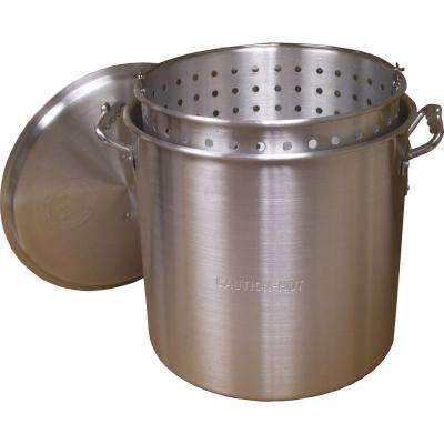 160 qt. Aluminum Boiling Pot Set