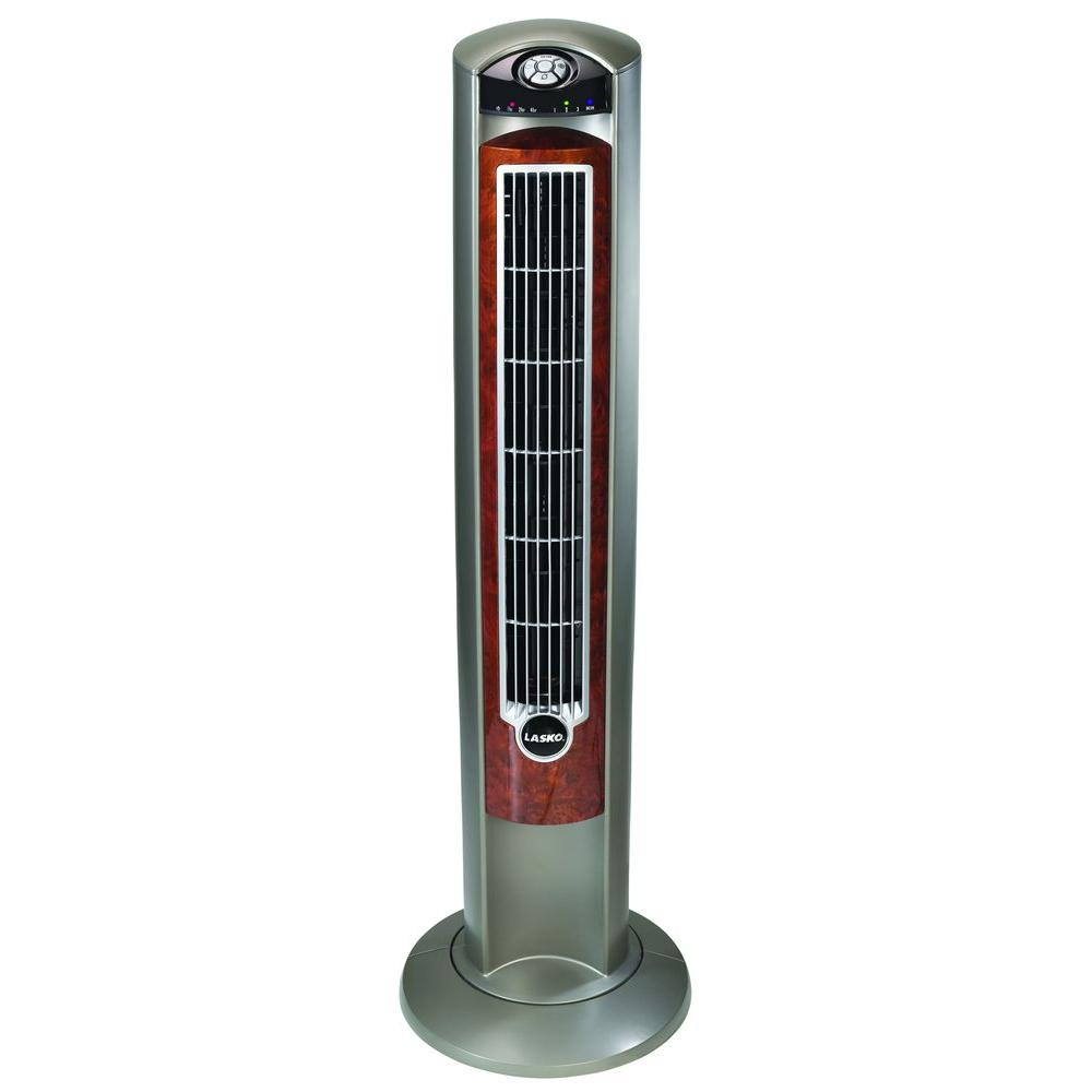 Ionize Fan Stand : Lasko wind curve in oscillating tower fan with fresh
