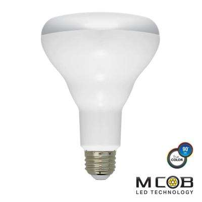 65W Equivalent Cool White (5000K) BR30 Dimmable MCOB LED Flood Light Bulb