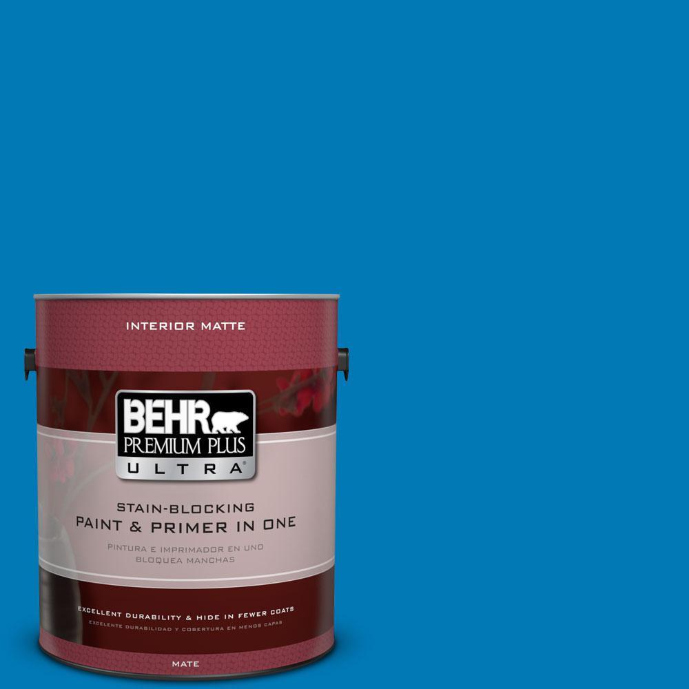 1 gal. #P500-6 Deep River Matte Interior Paint