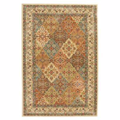 Persia Almond Buff 5 ft. x 8 ft. Indoor Area Rug