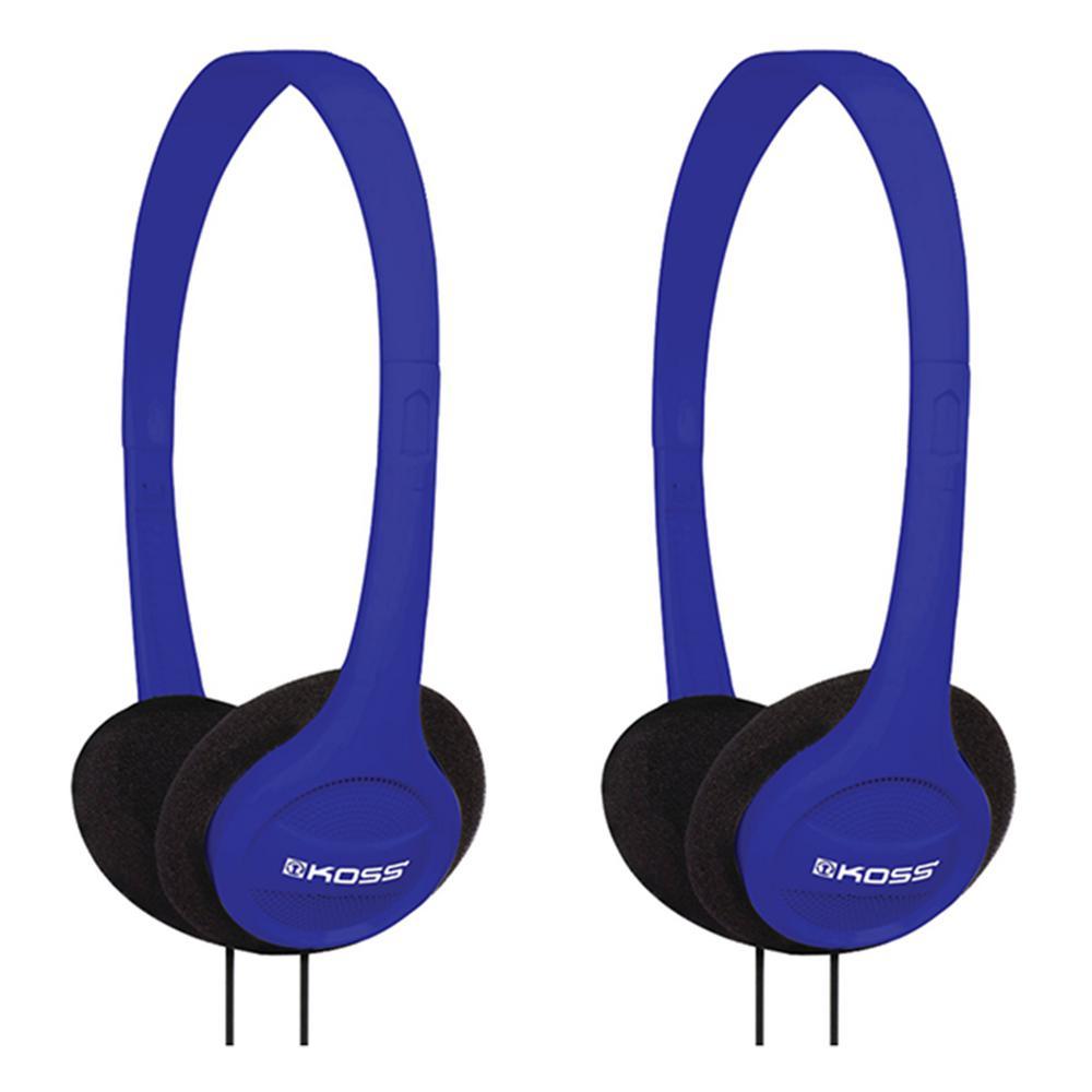 KPH7 On-Ear Headphones in Blue (2-Pack)