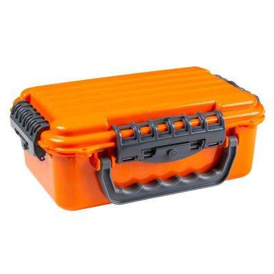 Large ABS Case with Handle in Orange