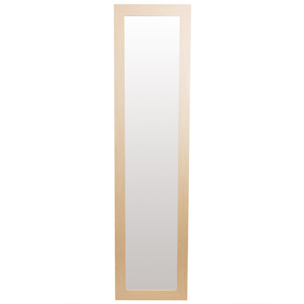 Home Basics Easel Back Rectangle Natural Floor Mirror was $89.99 now $58.99 (34.0% off)