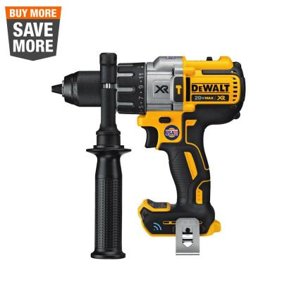 20-Volt MAX XR with Tool Connect Cordless Brushless 1/2 in. Hammer Drill/Driver (Tool Only)
