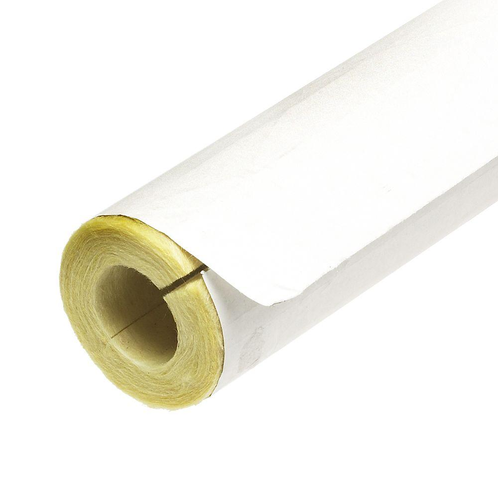 3 4 in x 3 ft fiberglass self sealing pre slit pipe for Basement insulation wrap