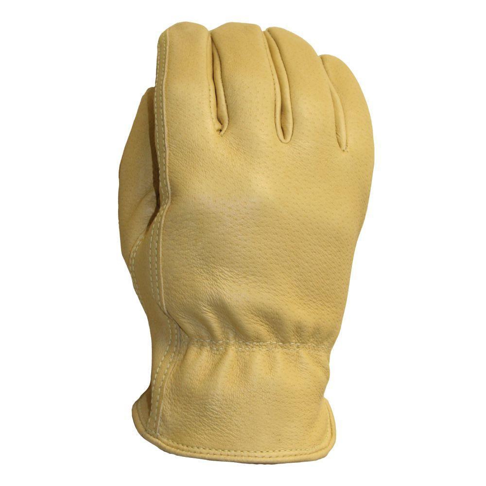 Firm Grip Grain Pigskin Extra-Large Work Gloves
