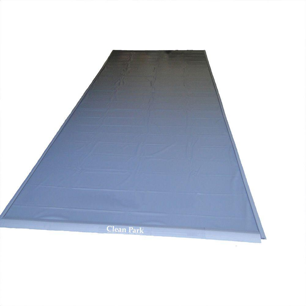 Park Smart Heavy Duty 50-mil Clean Park 7.5 ft. x 14 ft. Garage Mat