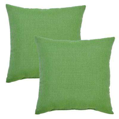 Fern Square Outdoor Throw Pillow (2-Pack)