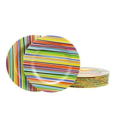 Color Celebration Yellow Dessert Plate (Set of 12)