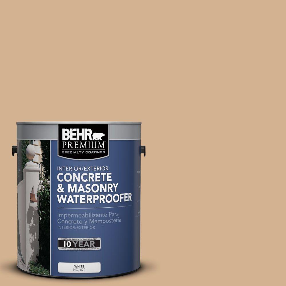 BEHR Premium 1 gal. #BW-42 Autumn Umber Concrete and Masonry Waterproofer