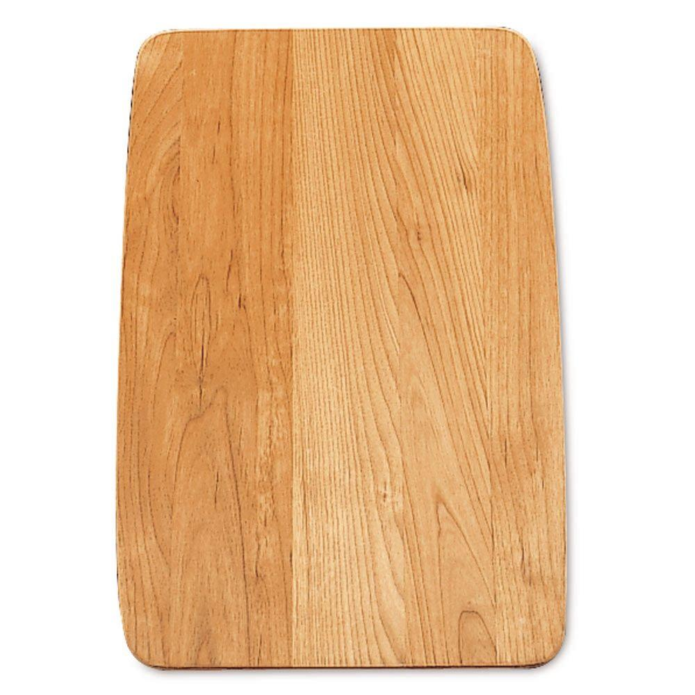 Wood Cutting Board for Diamond Super Single Bowl Kitchen Sink