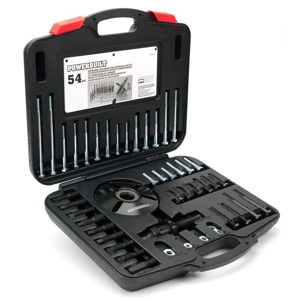 Powerbuilt Harmonic Balancer Pullerinstaller Kit 648994 The Home