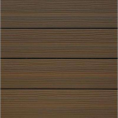 Composite Deck Tile Kit in Ipe Color (10 Tiles/Case) (Common: 12 in. x 12 in.; Actual: 11.5 in. x 11.5 in.)